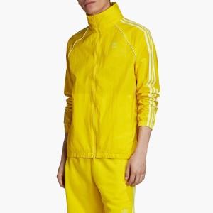 ביגוד אדידס לגברים Adidas Originals Windbreaker BLC SST - צהוב