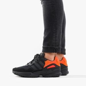 נעלי סניקרס אדידס לגברים Adidas Originals Yung-96 - שחור/כתום