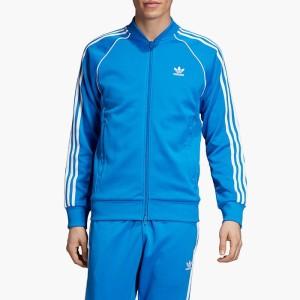 ביגוד אדידס לגברים Adidas SST Tracktop - כחול