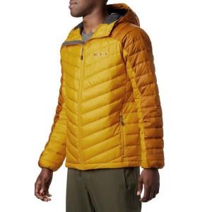 ביגוד קולומביה לגברים Columbia Horizon Explorer Hooded Jacket - צהוב
