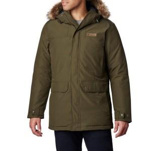 ג'קט ומעיל קולומביה לגברים Columbia Marquam Peaku2122 - ירוק