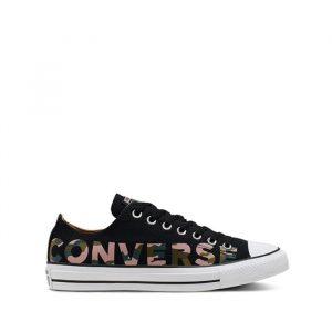 נעליים קונברס לגברים Converse Chuck Taylor All Star OX - שחור