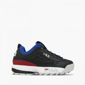 נעליים פילה לגברים Fila Disruptor Low - שחור/אדום