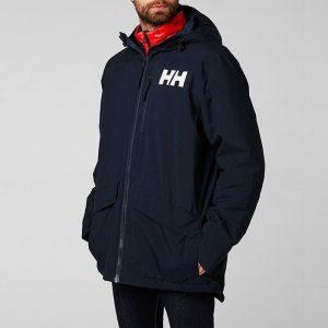 ביגוד הלי הנסן לגברים Helly Hansen Hansen Active Fall 2 Parka - כחול כהה