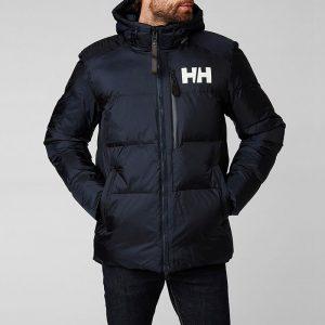 ביגוד הלי הנסן לגברים Helly Hansen Hansen Active Winter Parka - כחול כהה