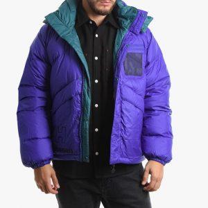 ביגוד הלי הנסן לגברים Helly Hansen Hansen Heritage Reversible Puffer Jacket - סגול