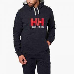 ביגוד הלי הנסן לגברים Helly Hansen Hansen Logo - שחור