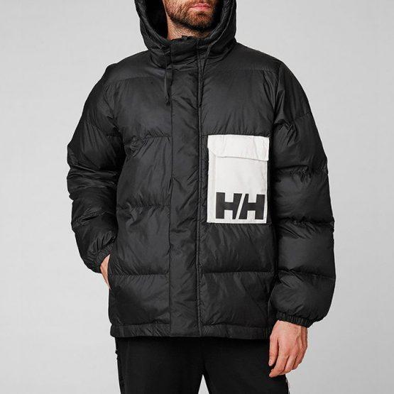 ביגוד הלי הנסן לגברים Helly Hansen Hansen PC Puffer Jacket - שחור