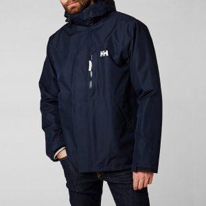 ביגוד הלי הנסן לגברים Helly Hansen Hansen Squamish Cis Jacket - כחול כהה