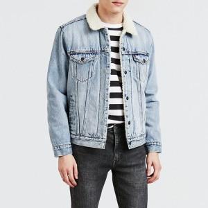 בגדי חורף ליוויס לגברים Levi's Type 3 Sherpa - כחול