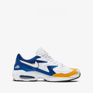נעליים נייק לגברים Nike Air Max 2 Light Prm - לבן