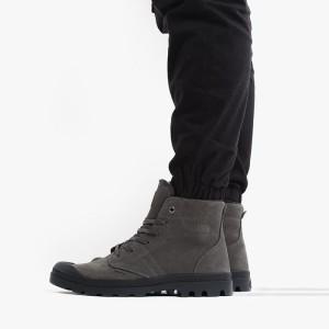 נעליים פלדיום לגברים Palladium Pallabrousse Leather S - אדום כהה