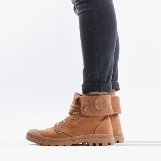 נעליים פלדיום לגברים Palladium Pampa Baggy - חום