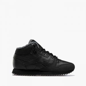 נעליים ריבוק לגברים Reebok Classic Leather Mid Ripple - שחור