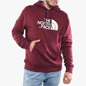 בגדי חורף דה נורת פיס לגברים The North Face Drew Peak - אדום יין