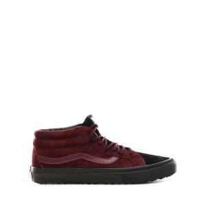 נעליים ואנס לגברים Vans Sk8-Mid - אדום