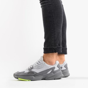 נעליים Adidas Originals לגברים Adidas Originals Falcon - אפור