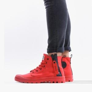 נעליים פלדיום לגברים Palladium Pampa Unzipped - אדום