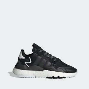 נעליים אדידס לנשים Adidas Nite Jogger - לבן/שחור