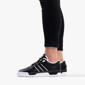 נעליים Adidas Originals לנשים Adidas Originals Rivalry Low - שחור