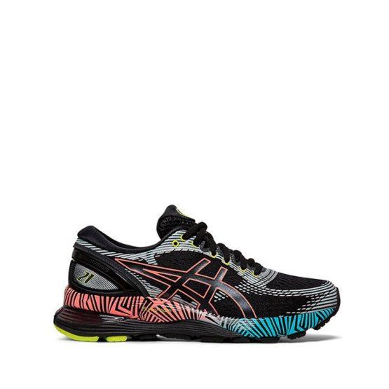 נעליים אסיקס לנשים Asics Gel-Nimbus 21 LS - צבעוני כהה