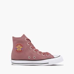נעליים קונברס לנשים Converse Chuck Taylor All Star High Retrograde - ורוד