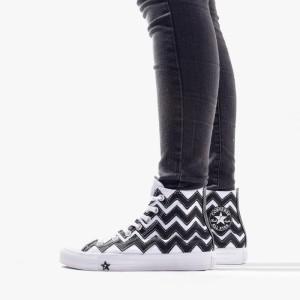 נעליים קונברס לנשים Converse Chuck Taylor All Star Vltg Hi - שחור/לבן