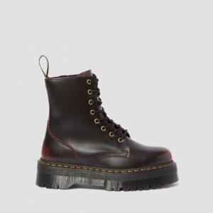 נעליים דר מרטינס  לנשים DR Martens Martens Jadon - שחור/אדום