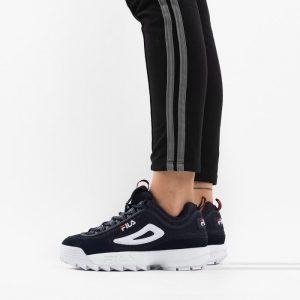 נעליים פילה לנשים Fila Disruptor Low - שחור הדפס