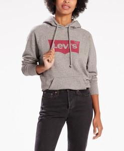 בגדי חורף ליוויס לנשים Levi's Womens blouse  Graphic Sport - אפור