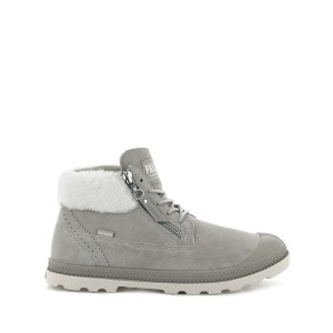 נעליים פלדיום לנשים Palladium Moscow - אפור