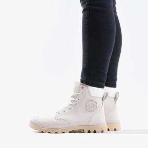 נעליים פלדיום לנשים Palladium Pampa Cuff - אפור בהיר