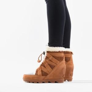 נעליים סורל לנשים Sorel Kinetic Sneak - חום