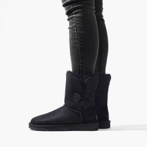 מגפיים האג לנשים UGG Bailey Button II - שחור