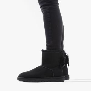 מגפיים האג לנשים UGG Classic Double Bow Mini - שחור