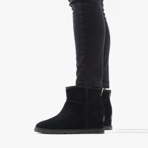 מגפיים האג לנשים UGG Classic Femme mini - שחור