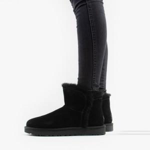 מגפיים האג לנשים UGG Classic Mini Fluff High-Low - שחור