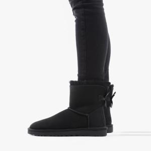 מגפי האג לנשים UGG Mini Bailey Bow II - שחור