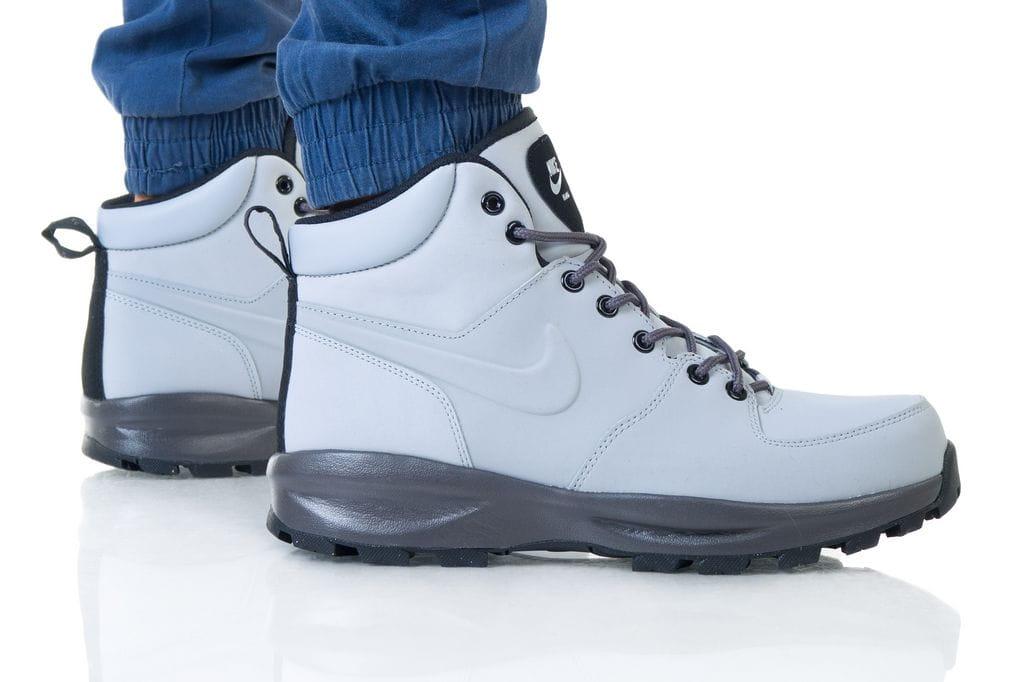 נעליים נייק לגברים Nike MANOA LEATHER - אפור