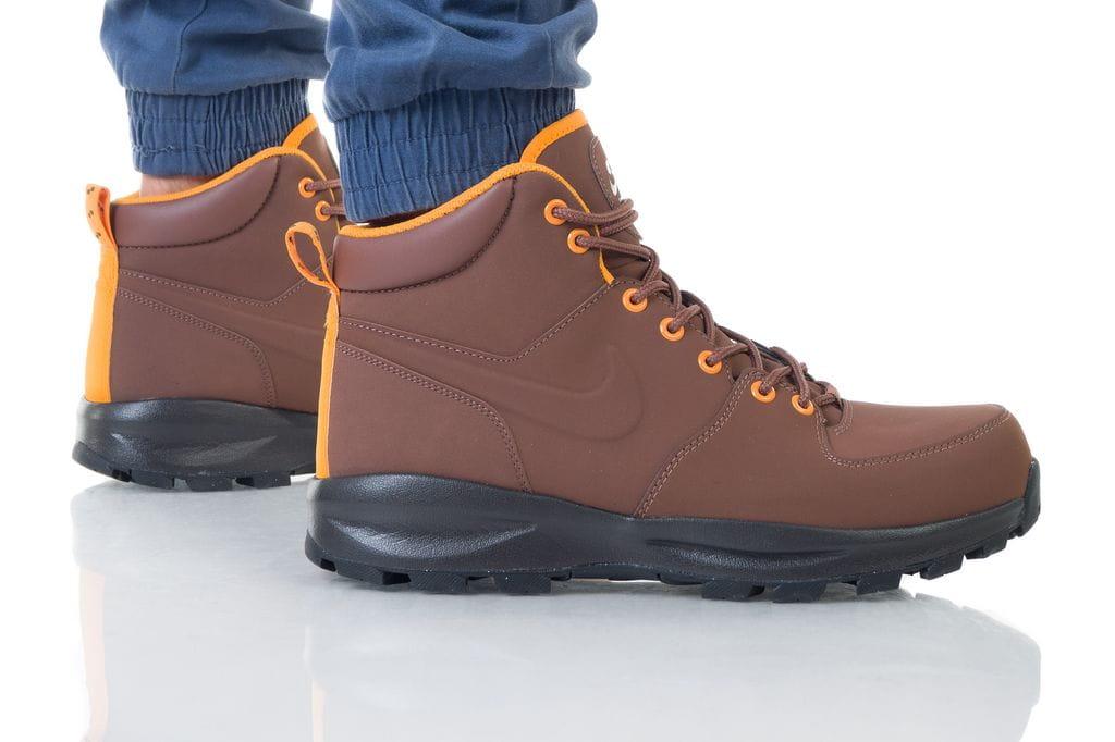 נעליים נייק לגברים Nike MANOA LEATHER - חום