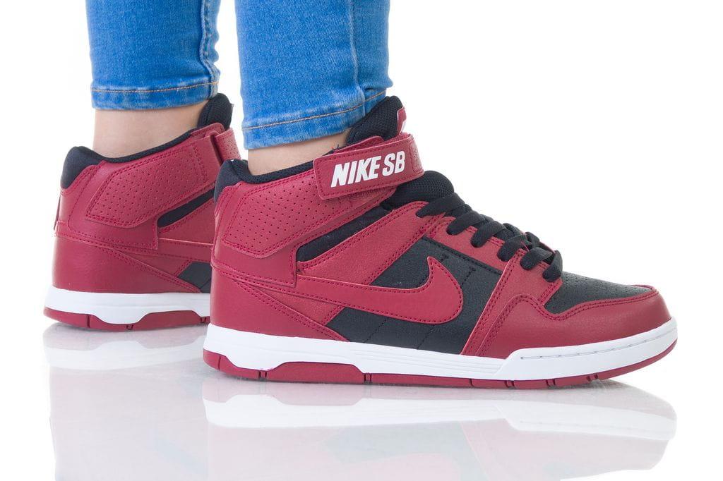 נעליים נייק לנשים Nike MOGAN MID 2 - שחור/אדום