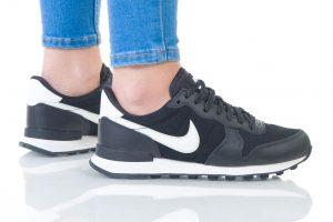 נעליים נייק לנשים Nike Internationalist  - שחור/לבן