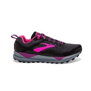 נעליים ברוקס לנשים Brooks CASCADIA 14 - שחור/סגול
