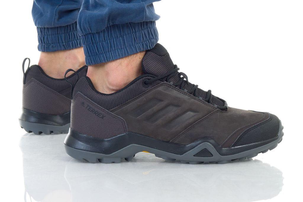 נעליים אדידס לגברים Adidas TERREX BRUSHWOOD LEATHER - חום