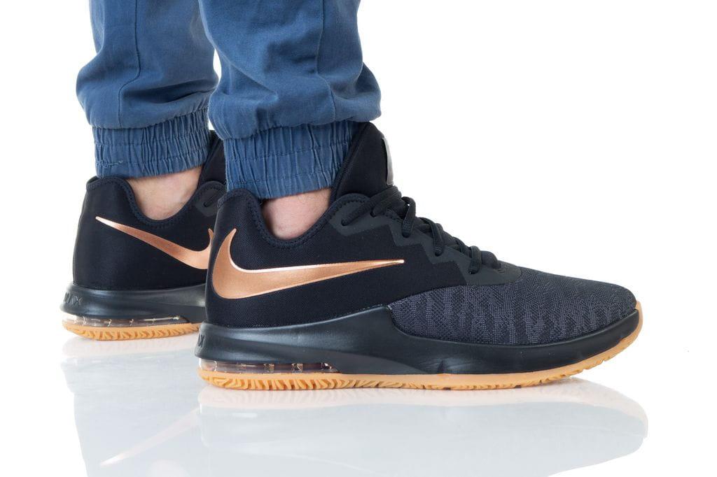 נעליים נייק לגברים Nike AIR MAX INFURIATE III LOW - שחור/צהוב