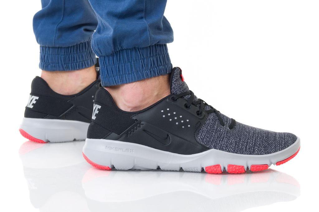 נעליים נייק לגברים Nike FLEX CONTROL TR3 - שחור/אדום