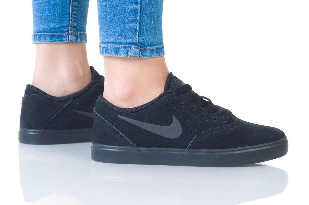נעליים נייק לנשים Nike CHECK SUEDE - שחור