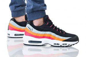 נעליים נייק לגברים Nike AIR MAX 95 - צבעוני כהה