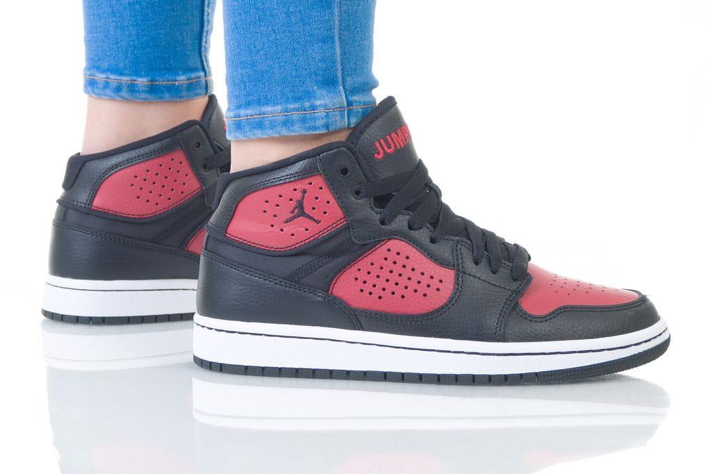נעליים נייק לנשים Nike JORDAN ACCESS - שחור/אדום