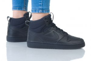 נעלי סניקרס נייק לנשים Nike COURT BOROUGH MID 2 - שחור